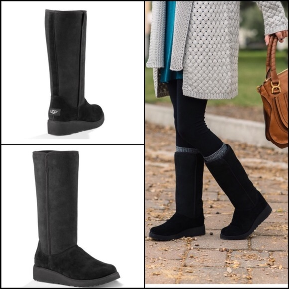 Ugg Australia Black Womens Kara Boots